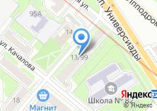 Компания «МеталлСтрой» на карте