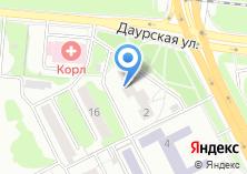 Компания «Глория-мебель» на карте