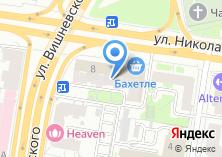 Компания «Бахетле» на карте