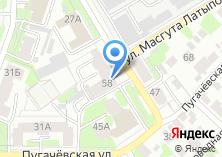 Компания «Парикмахерская на ул. Масгута Латыпова» на карте