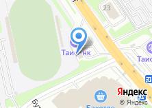 Компания «Танковая» на карте