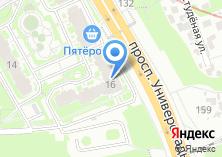 Компания «Строящийся жилой дом по ул. Подаметьевская» на карте