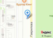 Компания «Шиномонтажная мастерская на Гаврилова» на карте