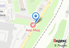 Компания «АИР МЕД» на карте