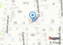 Компания «Мидас» на карте