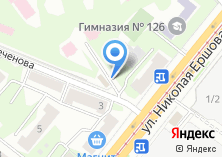 Компания «Продуктовый магазин на ул. Сеченова» на карте
