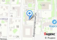 Компания «Т-Сервис» на карте