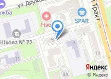 Компания «Интерпромхим» на карте