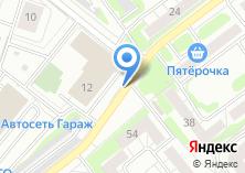 Компания «Деталь-авто» на карте