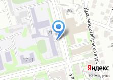 Компания «Казанская школа-интернат им. Е.Г. Ласточкиной для слабослышащих детей» на карте