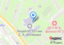 Компания «Лицей №121» на карте