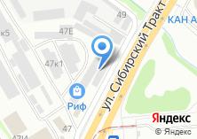 Компания «Кора» на карте