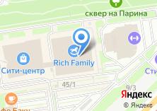 Компания «Сити Центр» на карте