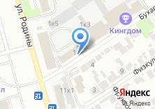 Компания «Автофаворит» на карте