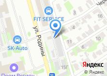 Компания «Жеоржия» на карте
