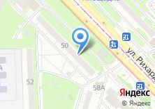Компания «Аванс» на карте