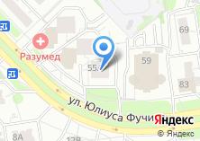 Компания «Фучика-55 А» на карте