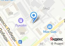 Компания «КОНТИНЕНТ-СНАБ» на карте