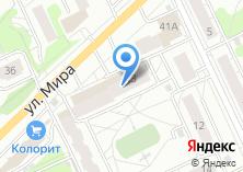 Компания «Кудрявый Ёжик» на карте