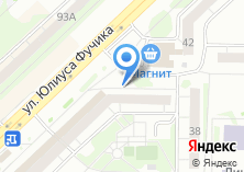 Компания «Продуктовый магазин на Фучика» на карте