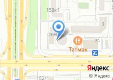 Компания «Строящееся административное здание по ул. Академика Сахарова» на карте