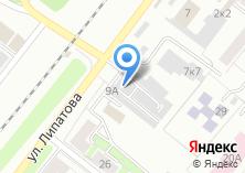 Компания «Парикмахерская на ул. Липатова» на карте