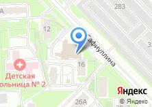 Компания «Элоника» на карте
