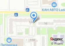Компания «ТеплоСтройКонструкция» на карте