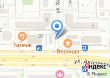 Компания «Сток» на карте
