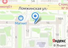 Компания «Волга-48» на карте