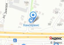 Компания «TRW» на карте