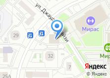 Компания «Бэрэкатле» на карте