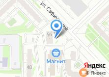 Компания «100в» на карте