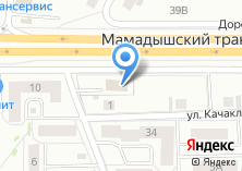 Компания «Адвокат Сабиров Л.З.» на карте