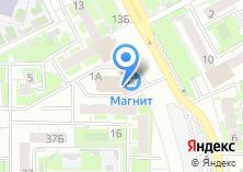 Компания «ААА» на карте