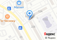 Компания «Продуктовый магазин на Академика Глушко» на карте