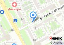 Компания «Магазин детской одежды на Галии Кайбицкой» на карте