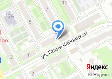 Компания «Магазин женской одежды на ул. Галии Кайбицкой» на карте