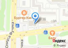 Компания «Аквалайф» на карте