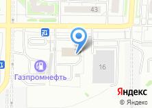 Компания «ТВТ» на карте