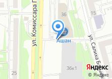 Компания «Алдан-2» на карте