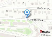 Компания «Продуктовый магазин на Новоселья» на карте