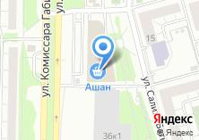 Компания «TONEN» на карте