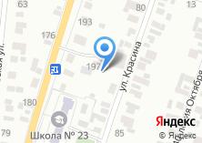 Компания «Строящееся административное здание по ул. Азина» на карте