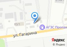 Компания «Шиномонтажная мастерская на ул. Гагарина» на карте