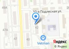 Компания «3Dproect» на карте