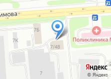 Компания «Ветеран-Металлург» на карте