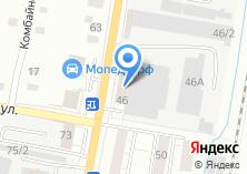 Компания «Ижбурком» на карте