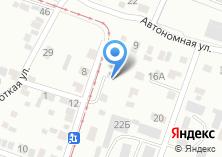 Компания «Аквакоммуникации» на карте