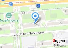 Компания «Меркурий Урал» на карте